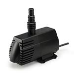 Aquascape Ultra Pump 1100 for Small Ponds, Fountain, Waterfalls, and Filters, 1,110 GPH