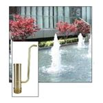 "ProEco N111 1"" Foam Jet Fountain Nozzle"