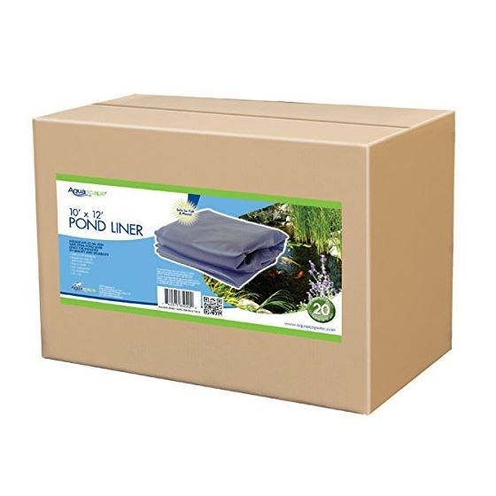 Aquascape EPDM Boxed 45 Mil Liner for Pond, Waterfall, and Water Features, 15 x 15 Feet