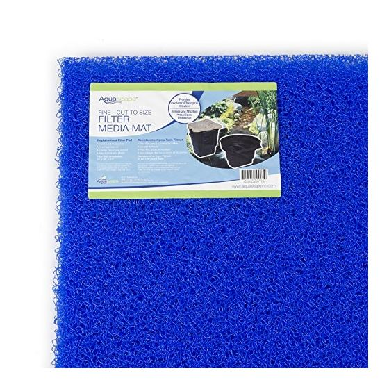 Filter Media Mat 24 And X 39 And  High Density  Bl