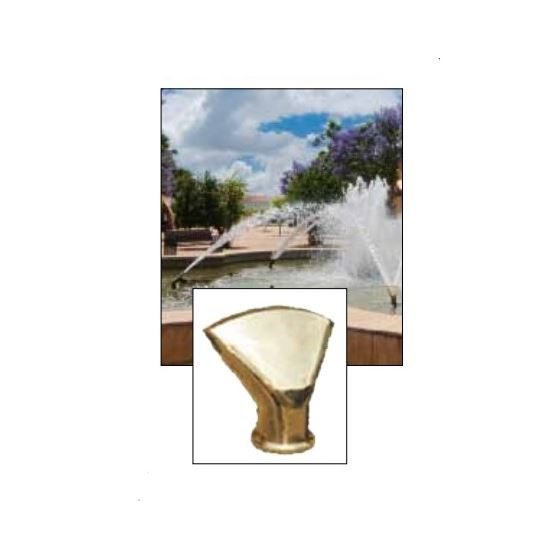 "ProEco N116 1"" Angled Fan Jet Fountain Nozzle"