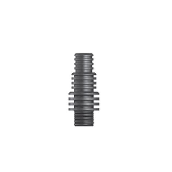 "Aquascape 88020 Multi-Hose Adapter 1/2"" Male x 3/4"", 1"", 1 1/4"" Barb"