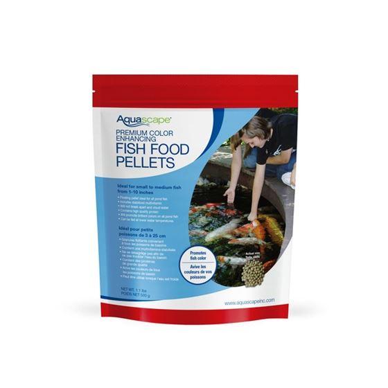 Premium Color Enhancing Fish Food Pellets 500g / 1.1 lbs