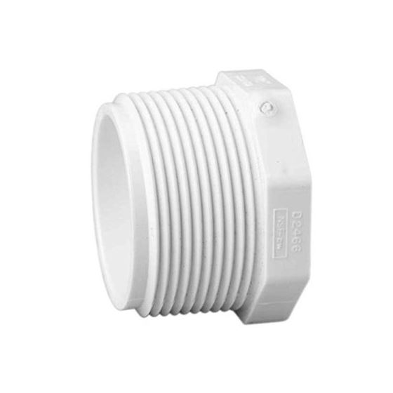 "450020 2"" PVC Schedule 40 Plug MPT SCH40"
