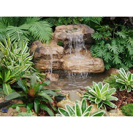 Small Rock Waterfall- 008