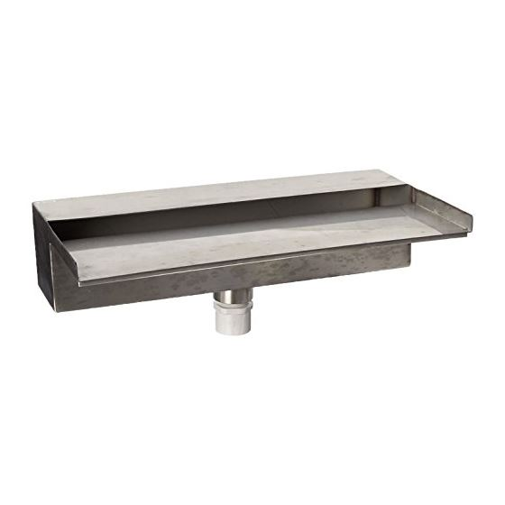 58066 Stainless Steel Waterwall Spillway For Pond,