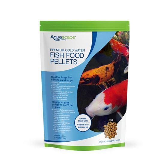 Premium Cold Water Fish Food Pellets 2 kg / 4.4 lbs