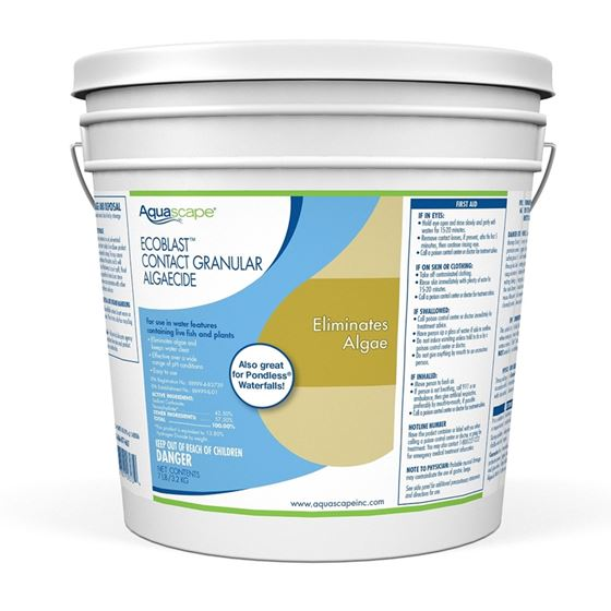 EcoBlast Granular Algaecide for Pond, Waterfall, and Stream Features, 7 Lbs