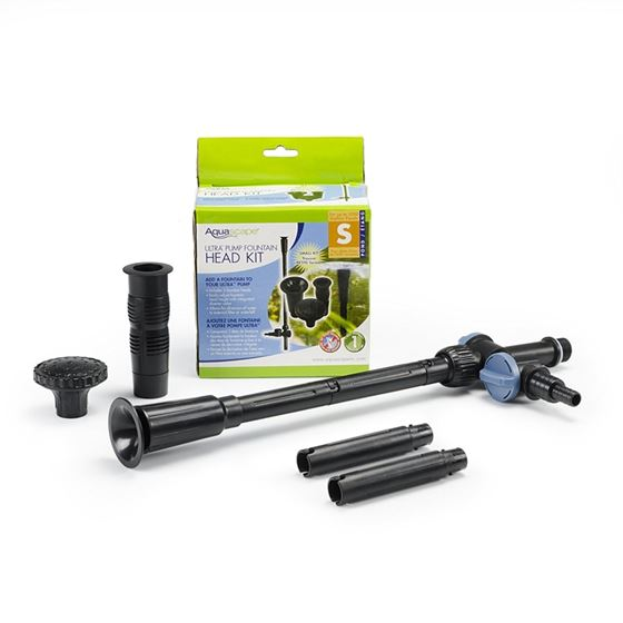 Small Ultra Pump Fountain Head Kit for Ultra 400, 550, and 800 Pumps