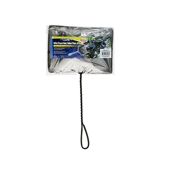 98556 Mini Pond And Fish Net, 12-Inch Twisted Hand