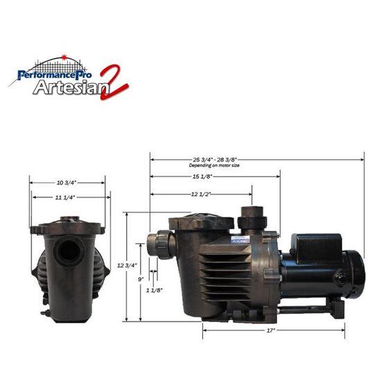 Performance Pro Artesian 2 Pond Pump