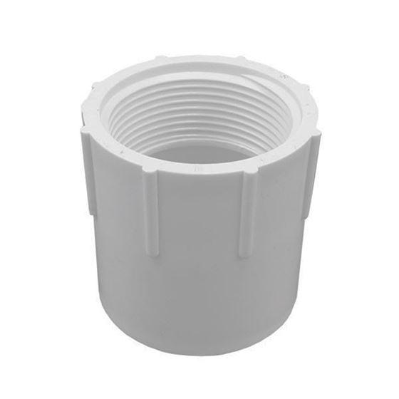 Schedule 40 PVC Pipe Slip x Fipt Female Adapter