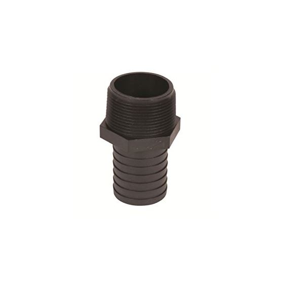 99157 Barbed Male Hose Adapter 1.25 And To 1.5 And