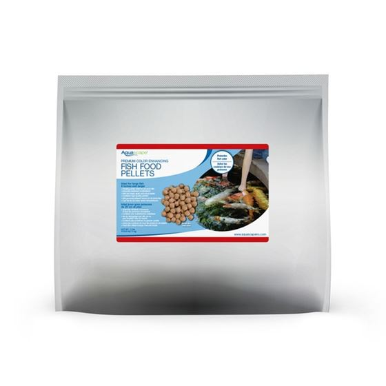 Premium Color Enhancing Fish Food Pellets - 5 kg / 11 lbs