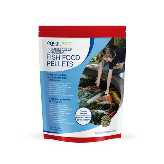 Premium Color Enhancing Fish Food Pellets 1kg