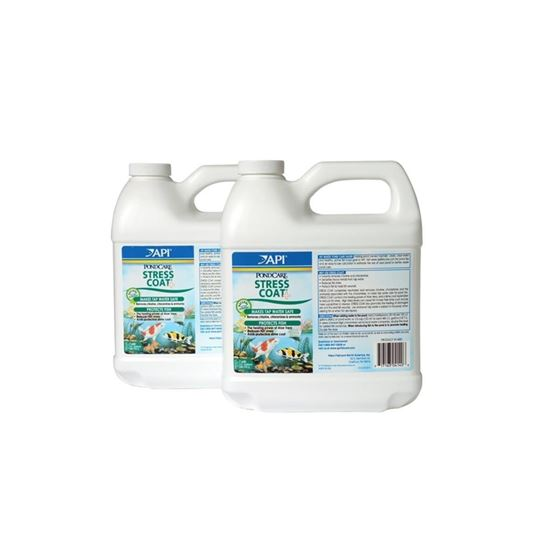 API Pondcare Stress Coat Pond Water Conditioner 64-Ounce