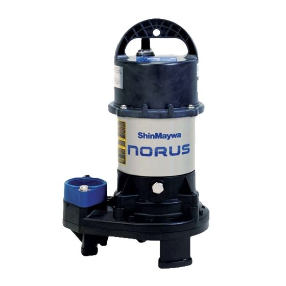 Norus Stainless Steel Submersible Pump, 1/5 Horsepower