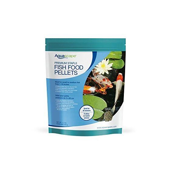 Premium Staple Fish Food Mixed Pellets, 500 G