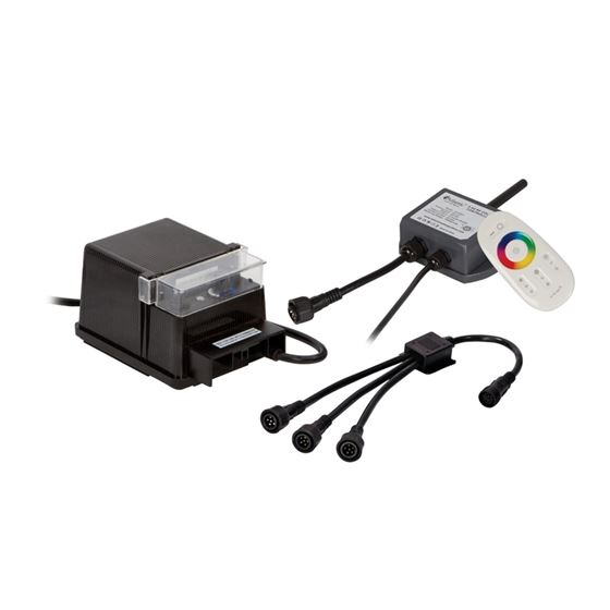 7-Way Wiring Kit for Color Changing LED Lights with Control Module and Remote