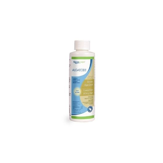Algaecide for Pond, Waterfall, and Water Features, 8-Ounce