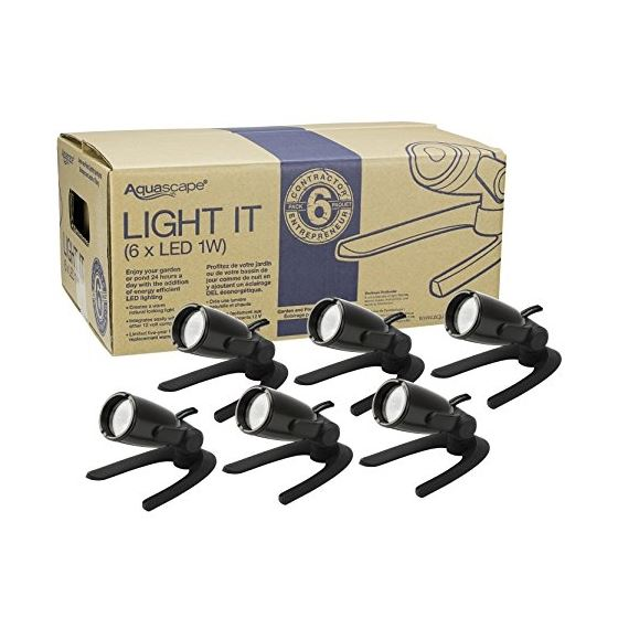 LED Garden And Pond Lighting Six 6 Pack 84045