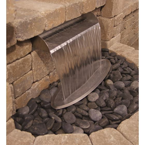 Scupper Waterfall Spillway, Stainless Steel-3