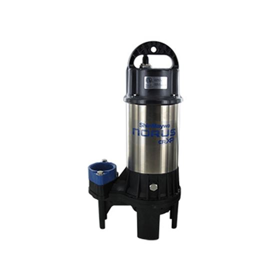 Norus High Flow Stainless Steel Submersible Pump, 1 Horsepower