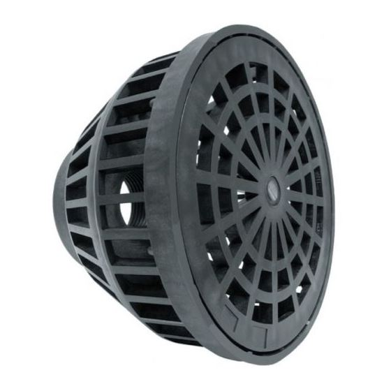 "2"" Plastic Basket Suction Strainer"