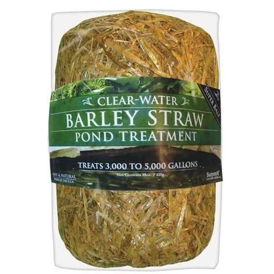 Clear-Water Barley Straw Bale 15 oz, Treats up to 5000-Gallons