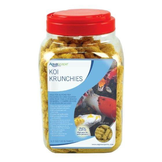 81000 Koi Krunchies Fish Food, 14.1 Ounces