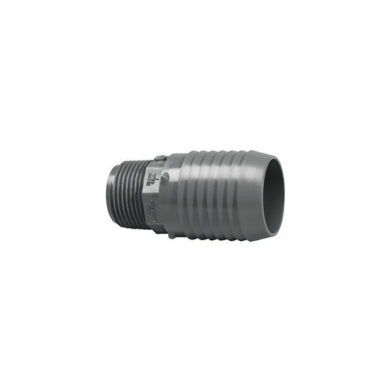 "1.5""M x 2""B Female Straight Adapter"