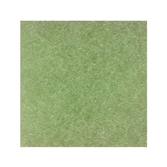 """Poly-Flo 1"""" Lime Green Mechanical Filter Mat - 28"""" x 12"""