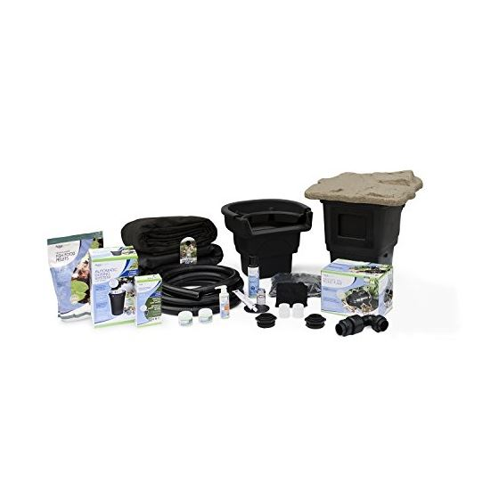Complete Pond Kit 8 Feet X 11 Feet  Aquasurge 3000
