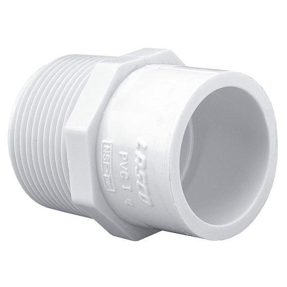 Schedule 40 PVC Pipe Mipt x Slip Reducing Male Adapter