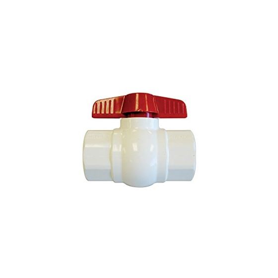 AQSC Threaded Ball Valve, 1.5-Inch