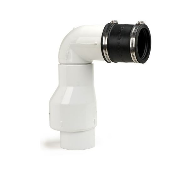 Check Valve Assembly, Water Feature Component for Back Flow, 3-Inch