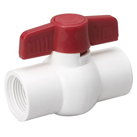 EBV-2000-T 2-Inch Threaded PVC Schedule 40 Economy Ball Valve