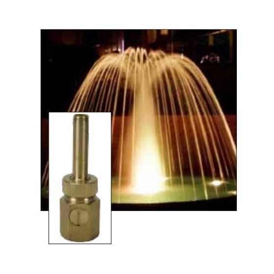 "ProEco N102 2"" Comet Fountain Nozzle, Female-3"
