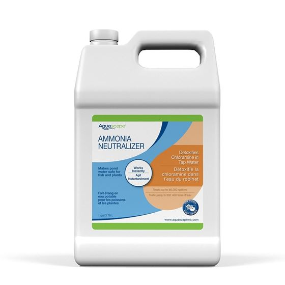 Ammonia Neutralizer Water Treatment for Ponds (1 Gal / 3.78 ltr)