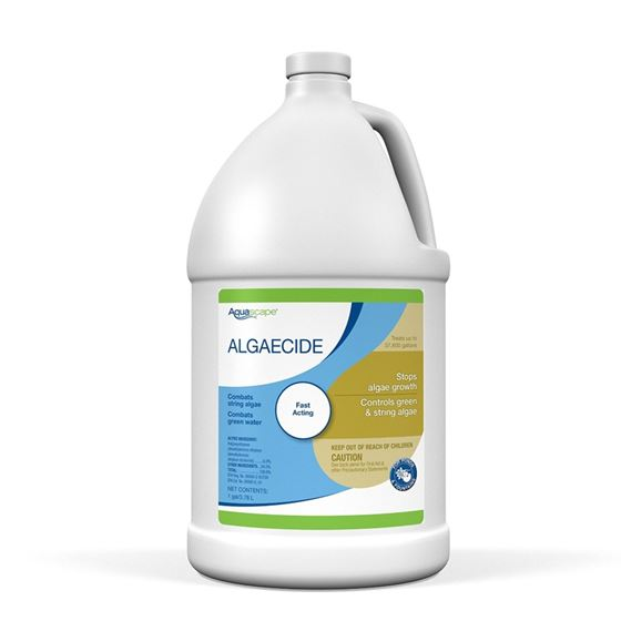 Algaecide for Pond, Waterfall, and Water Features, 1-Gallon